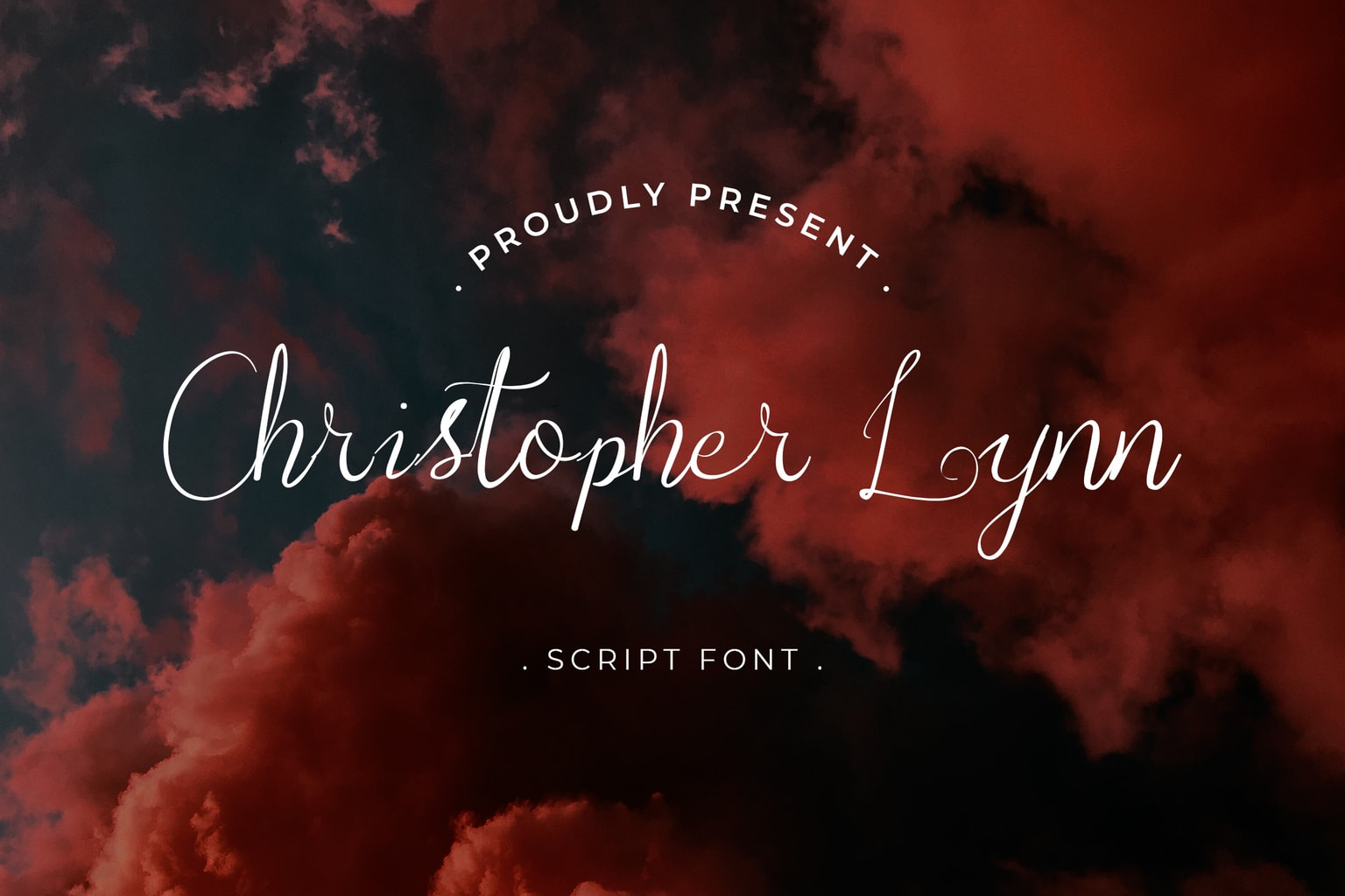 fonts christoper lynn script