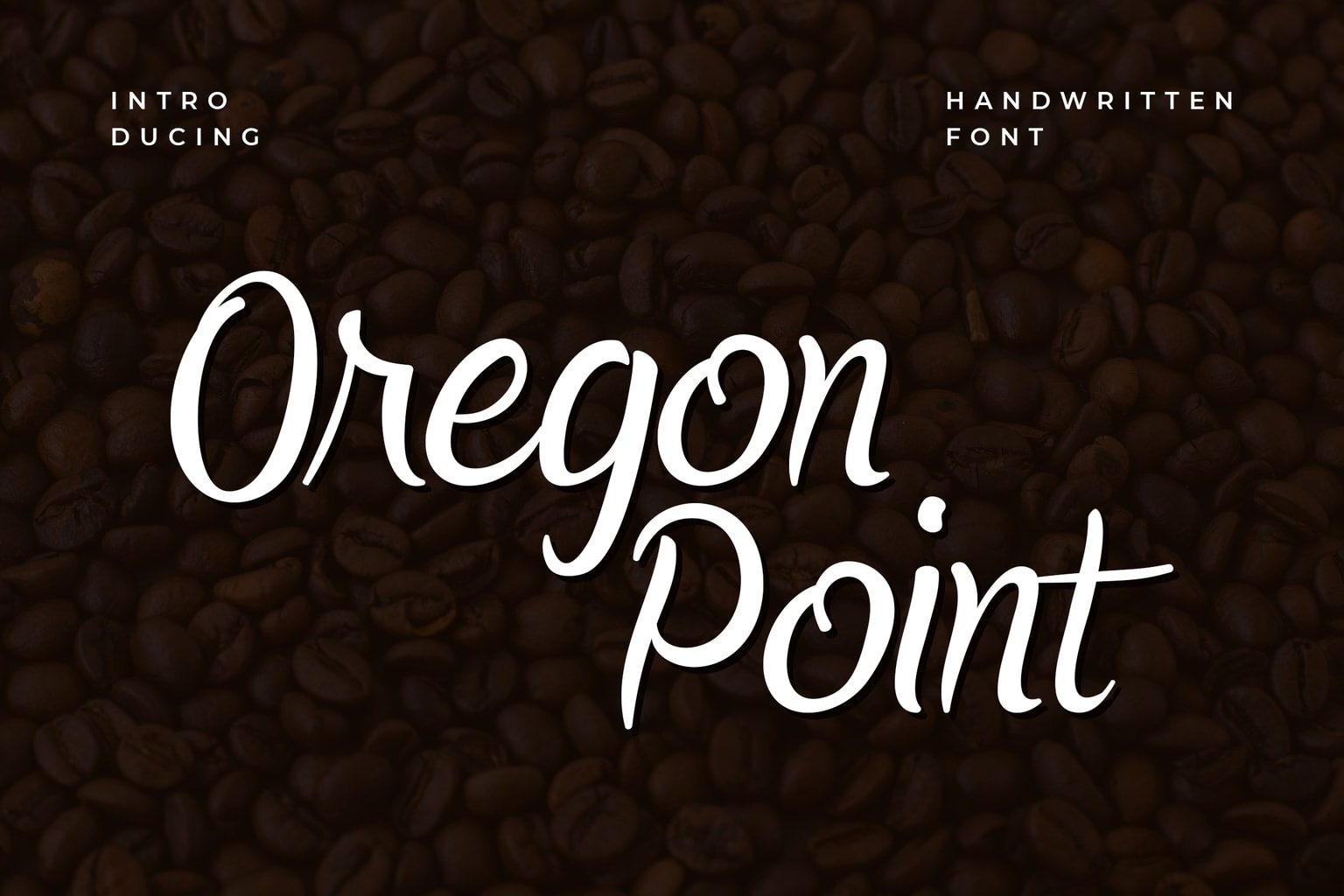 fonts oregon point handwritten