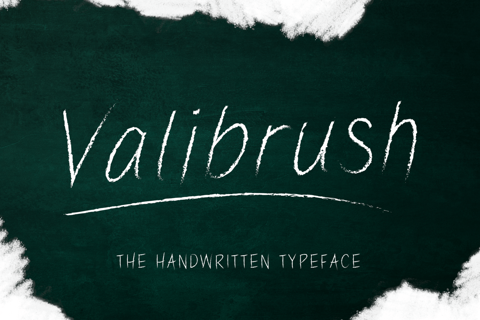 fonts valibrush handwritten