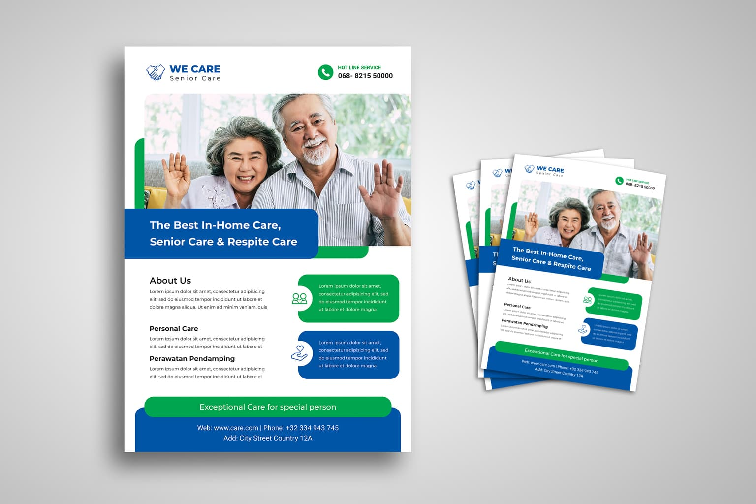flyer senior care at home