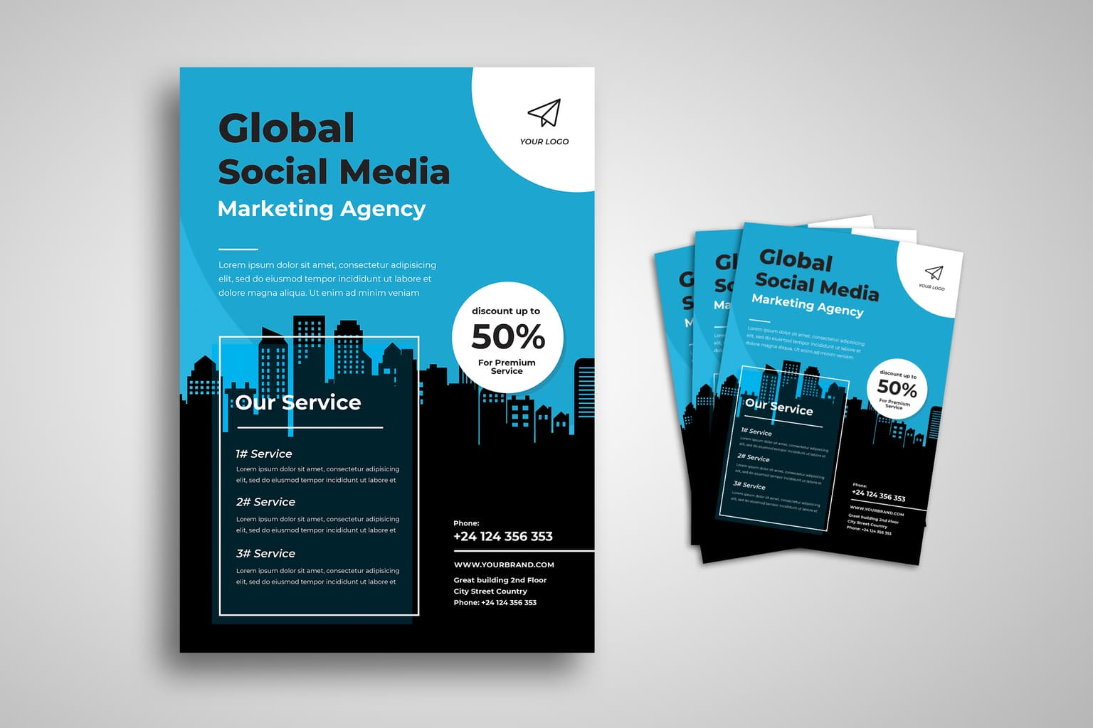 flyer social media marketing agency