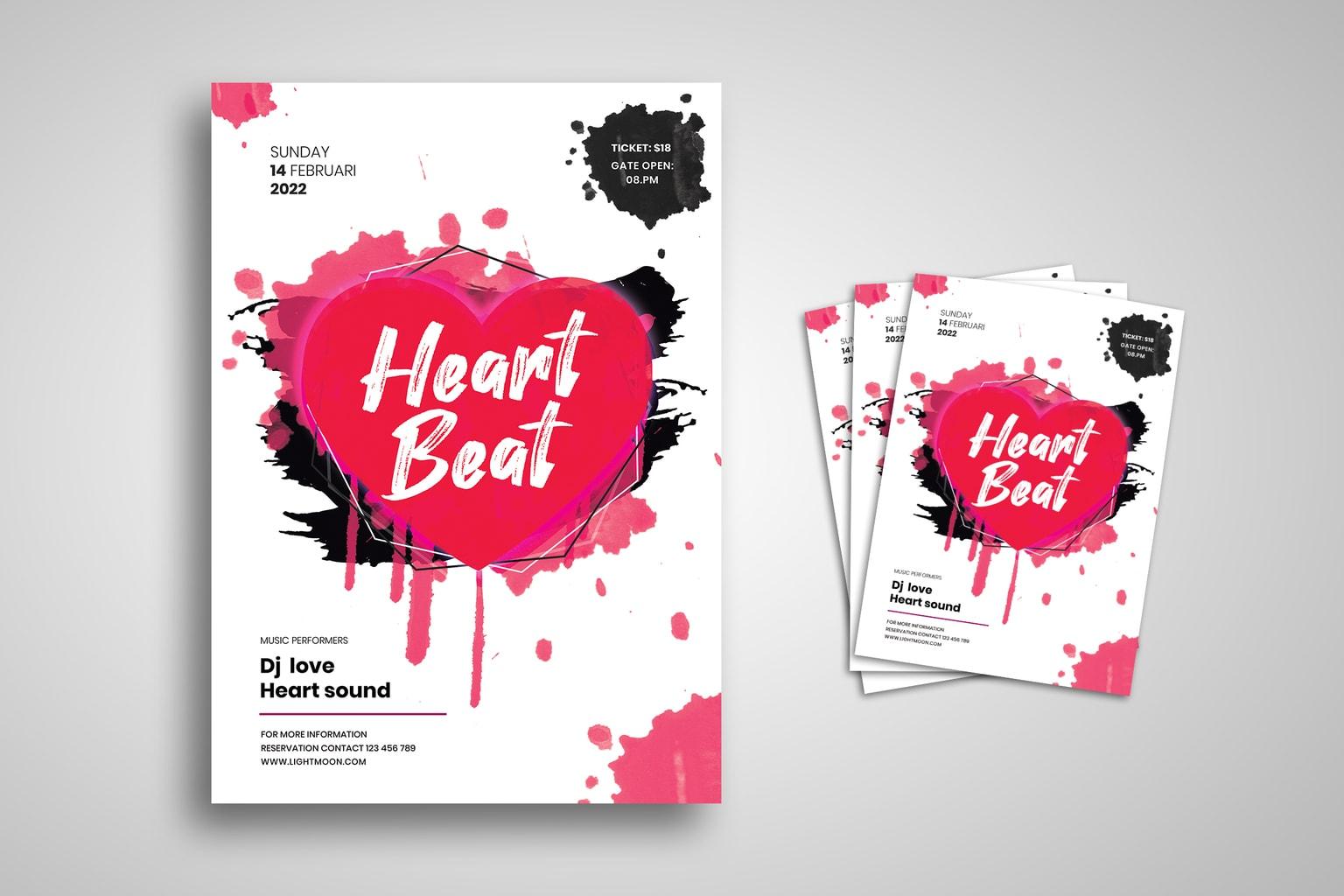flyer heart beat performance